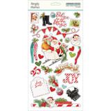 Simple Stories - Chipboard Sticker 6x12 - North Pole (VNP13620)