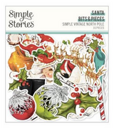 Simple Stories - Bits and Pieces Ephemera 31/Pkg - North Pole (VNP13622)
