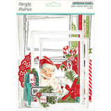 Simple Stories - Chipboard Layered Frames 6?Pkg - North Pole (VNP13624)