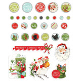 Simple Stories - Decorative Brads 32/Pkg - North Pole (VNP13628)