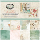 49 and Market - Scrapbooking Paper Pack 12x12 - Vintage Artistry Shore (VAS32921)