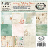 49 and Market - Scrapbooking Paper Pack 6x6 - Vintage Artistry Shore (VAS32938)