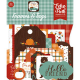 Echo Park - Cardstock Frames & Tags 33/Pkg - Happy Fall (AP219025)