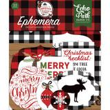 Echo Park - Cardstock Ephemera 33/Pkg - A Lumberjack Christmas (LC220024)