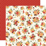 Carta Bella - Double- Sided Cardstock 12x12- Hello Autumn - Fall Floral (CBHEA122 2)