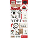 Carta Bella - Chipboard 6x12 - Farmhouse Christmas - Phrases (AC123022)