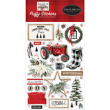 Carta Bella - Puffy Stickers - Farmhouse Christmas (AC123066)