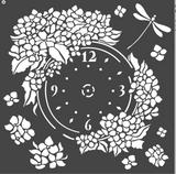 Stamperia - Stencil  7x7 - Clock (KSTDQ41)