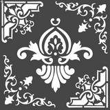 Stamperia - Stencil  7x7 - Freeze (KSTDQ55)