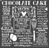 Stamperia - Stencil  7x7 - Chocolate Cake (KSTDQ59)