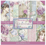 Stamperia - Double-Sided Cardstock Collection 12x12/22Pkg - Hortensia (SBBL72)