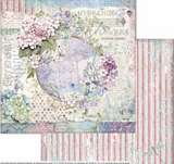 Stamperia - Double-Sided Cardstock - Hortensia - Garland (SBB696)