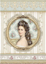 Stamperia - Decoupage Rice Paper A4 11.69x8.26 - Princess (DFSA4481)