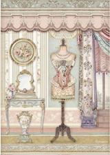 Stamperia - Decoupage Rice Paper A4 11.69x8.26 - Mannequin (DFSA4483)