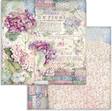 Stamperia - Double-Sided Cardstock - Hortensia (SBB694)