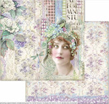Stamperia - Double-Sided Cardstock - Hortensia - Lady (SBB698)