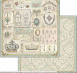 Stamperia - Double-Sided Cardstock 12x12 - Princess - Jewelry (SBB715)