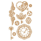 Prima Marketing Laser Cut Chipboard - Mechanical Dreams, 10/Pkg (647292)