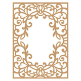 Prima Marketing Laser Cut Chipboard - Vine Frame (647353)