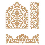 Prima Marketing Laser Cut Chipboard - In The Garden, 3/Pkg (647360)