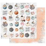 Prima - 12x12 Double-Sided Paper - Pumpkin & Spice - Fall For Fall (PMPKN12 49627)