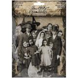 Tim Holtz Idea-Ology - Paper Dolls Die-Cuts 22/Pkg - Halloween (TH94057)