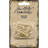 Tim Holtz - Idea-Ology - Boneyard Pieces 12/Pkg (TH94062)