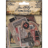 Tim Holtz - Idea-Ology - Ephemera Snippets Tiny Die-Cuts 68/Pkg - Halloween 2020 (TH94056)