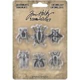 Tim Holtz - Idea-ology - Metal Adornments 5/Pkg - Entomology - Halloween 2020 (TH94079)
