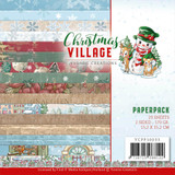 "Find It Trading - Yvonne Creations - Christmas Village - Dbl Sided Paper Pack 6""X6"" 23/Pkg (CPP10033)"