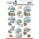 Find It Trading - Yvonne Creations - Christmas Village - Punchout Sheet - Christmas Globes (SB10476)