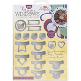 Angela Poole Decorative Die Set - Magic Windows - Tabs (APMWDT01)