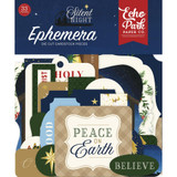 Echo Park - Cardstock Ephemera 33/Pkg - Silent Night (SN222024)