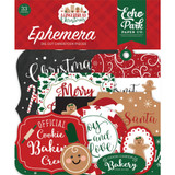 Echo Park - Cardstock Ephemera 33/Pkg - A Gingerbread Christmas (GC221024)
