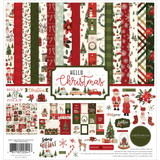 "Carta Bella - Collection Kit 12""X12"" - Hello Christmas (CBHC124016)"