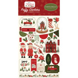 Carta Bella - Puffy Stickers - Hello Christmas (CBHC124066)