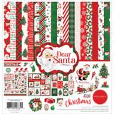 """Carta Bella - Collection Kit 12""""X12"""" - Dear Santa (CBDE125016)"""