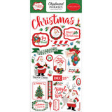 "Carta Bella - Chipboard 6""X13"" - Dear Santa - Phrases (CBDE125022)"