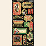 Graphic 45 - Chipboard - Christmas Time (G4502121)