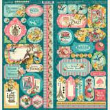 Graphic 45 - Stickers - Ephemera Queen (G4502107)
