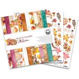 P13 - Paper Pad 6x6 24/Pkg - The Four Seasons - Autumn (P13AUT09)