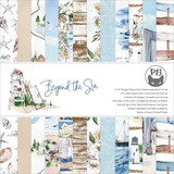 P13 - Paper Pad 6x6 24/Pkg - Beyond The Sea (P13SEA09)