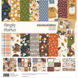 Simple Stories - Collection Kit 12x12 - Cozy Days (COZ13500)