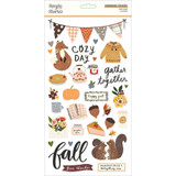 Simple Stories - Chipboard Stickers 6x12 - Cozy Days (COZ13515)