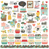 Simple Stories - Cardstock Element Sticker 12x12 - Apron Strings (APR14001)