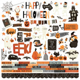 Simple Stories - Element Stickers 12x12 - Boo Crew (BCR13801)