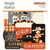 Simple Stories - Bits & Pieces Die-Cuts 39/Pkg - Boo Crew - Journal (BCR13816)