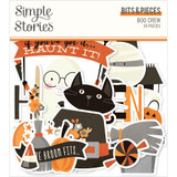 Simple Stories - Bits & Pieces Die-Cuts 39/Pkg - Boo Crew (BCR13815)