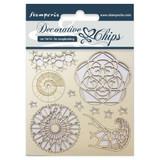 "Stamperia - Decorative Chips 5.5""X5.5"" - Arctic (SCB5.5 - 13)"