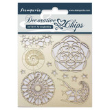 "Stamperia - Decorative Chips 5.5""X5.5"" - Arctic (SCB5.5 - 13)"